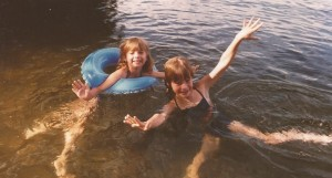 Oh yeah, lots of fun at the lake