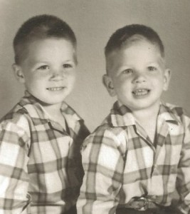 My absolute favorite pic of my middle two brothers.  So cute I could hug them.  And I did.