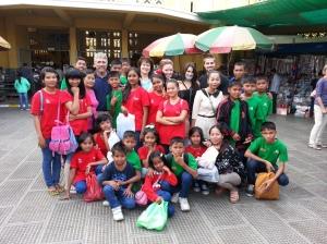 My friends in Prek Eng 5, children, houseparents and caretakers