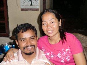 House parents  Suonbun Saravy (Ravy) on the left and Tharey Sorn (Rey) on the right.