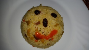 A friendly fried rice.
