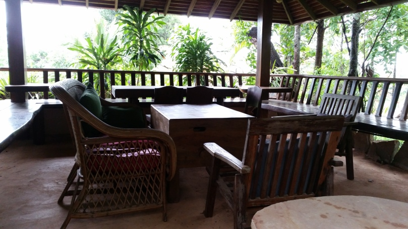 Seating area at the  Secret Restaurant, Veranda Natural Resort