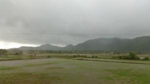 Moody, persistent, wet weather...