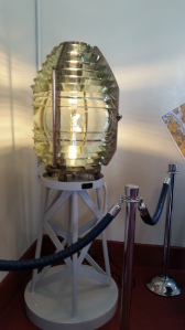 The Fresnel lens which was a great breakthrough in technology for lighthouses