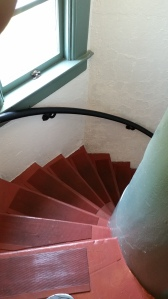 the classic spiral stair...