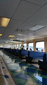 On the ferry to Vashon Island