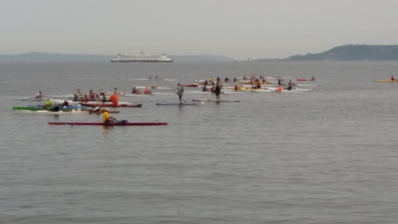 A boat line up (loosely so called)
