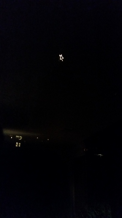 Out my window, the Star of Seattle, I guess.